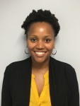 Staff attorney Jasmyn Harrington